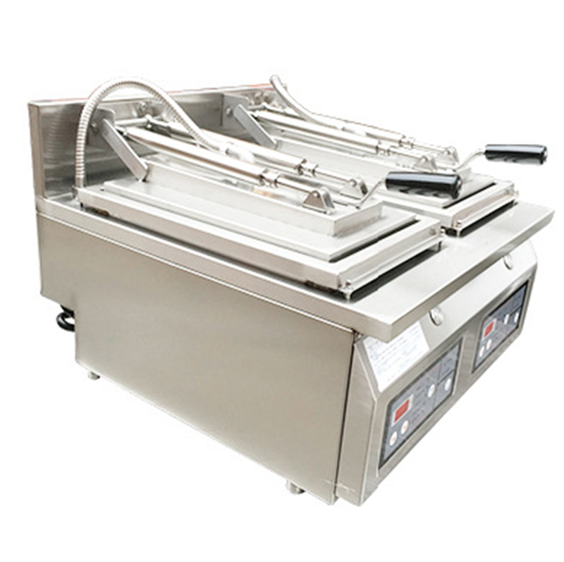 potsticker fryer pan machine