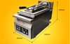 automatic gyoza frying machine gyoza grilling machine